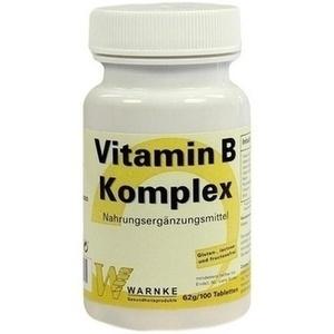 VITAMIN B KOMPLEX Tabletten