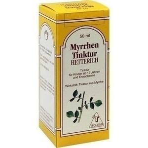 MYRRHEN TINKTUR Hetterich