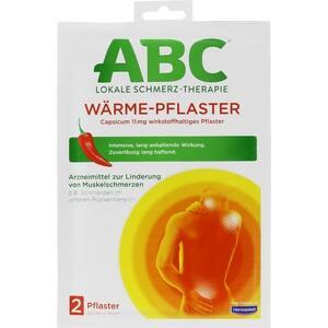 HANSAPLAST med ABC Wärme Pflaster Capsicum