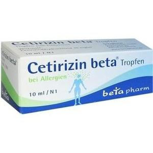 CETIRIZIN beta Tropfen zum Einnehmen