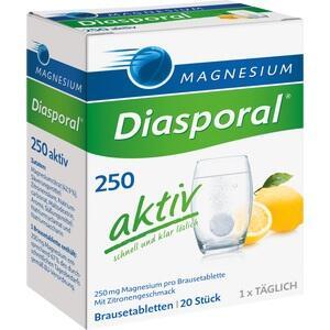 MAGNESIUM DIASPORAL 250 aktiv Brausetabletten