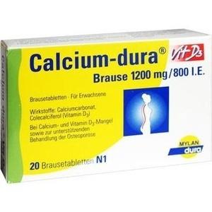 CALCIUM DURA Vit D3 Brausetabletten