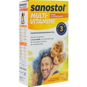 Sanostol ohne Zuckerzusatz Saft