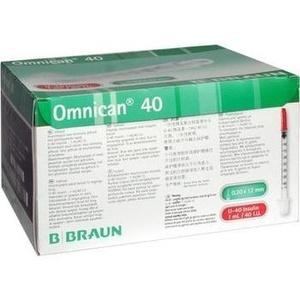 OMNICAN 40 Ins.Kan.Spr.1 ml/40 I.U