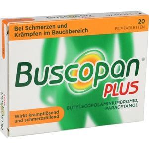 Abbildung von Buscopan Plus  Filmtabletten