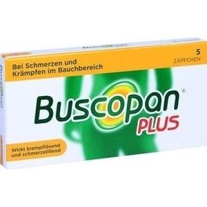 Abbildung von Buscopan Plus  Zäpfchen