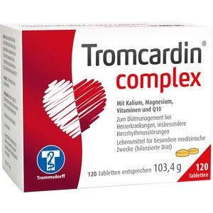 Abbildung von Tromcardin Complex  Tabletten