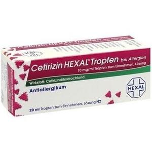 CETIRIZIN HEXAL Tropfen bei Allergien