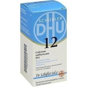 BIOCHEMIE 12 CALC SULF D12
