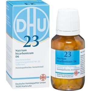 BIOCHEMIE DHU 23 Natrium bicarbonicum D 6 Tabl.