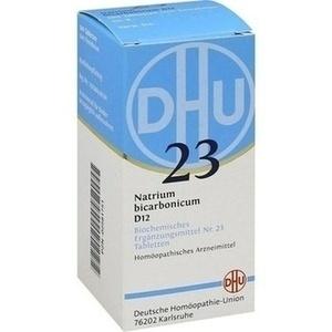 BIOCHEMIE DHU 23 Natrium bicarbonicum D 12 Tabl.