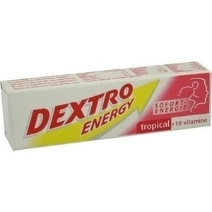 DEXTRO ENERGY Tropical+10 Vitamine Stange