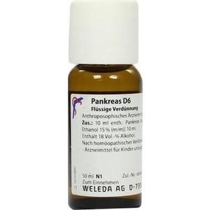 PANKREAS D 6 Dilution