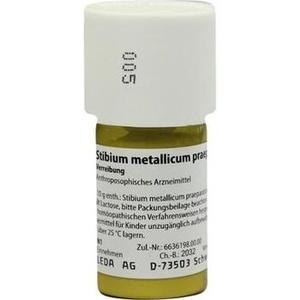 STIBIUM MET. PRAEPARATUM D 10 Trituration