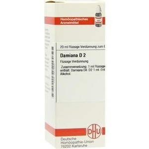 DAMIANA D 2 Dilution