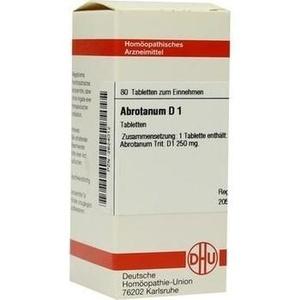 ABROTANUM D 1 Tabletten