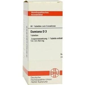 DAMIANA D 3 Tabletten
