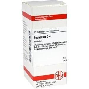 EUPHRASIA D 4 Tabletten