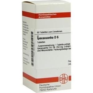 IPECACUANHA D 6 Tabletten