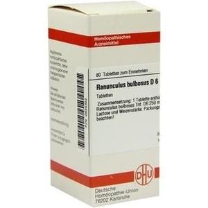 RANUNCULUS BULBOSUS D 6 Tabletten