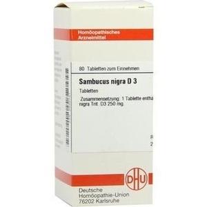 SAMBUCUS NIGRA D 3 Tabletten