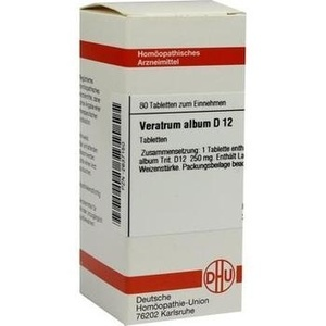 VERATRUM ALBUM D 12 Tabletten