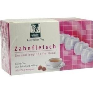 BADERS Apotheken Tee Zahnfleisch Filterbeutel