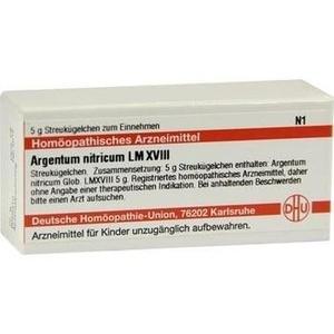 LM ARGENTUM nitricum XVIII Globuli