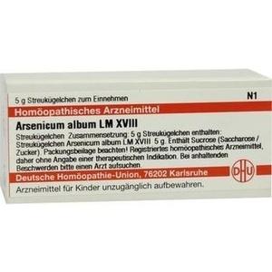 LM ARSENICUM album XVIII Globuli