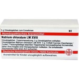 LM NATRIUM chloratum XVIII Globuli