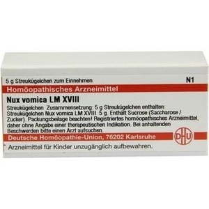 LM NUX vomica XVIII Globuli