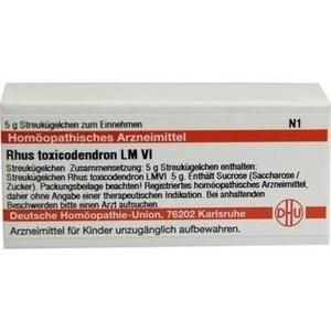 LM RHUS toxicodendron VI Globuli