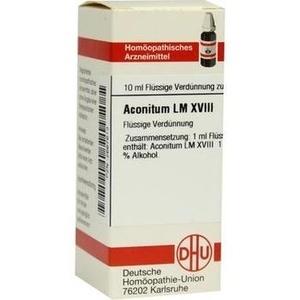 LM ACONITUM XVIII Dilution