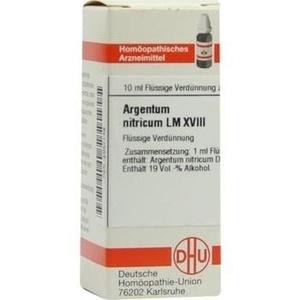 LM ARGENTUM nitricum XVIII Dilution