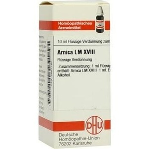 LM ARNICA XVIII Dilution