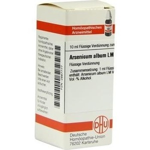 LM ARSENICUM album VI Dilution