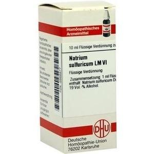 LM NATRIUM sulfuricum VI Dilution