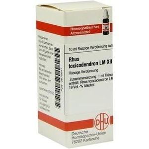 Lm Rhus Tox Xii Dilution
