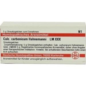 LM CALCIUM carbonicum Hahnemanni XXX Globuli
