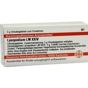 LM LYCOPODIUM XXIV Globuli