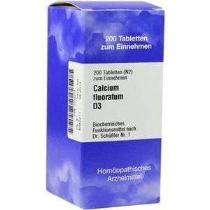 Biochemie 1 Calcium Fluoratum D3 Tabletten