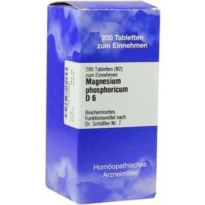 Biochemie 7 Magnesium Phosphoricum D6 Tabletten