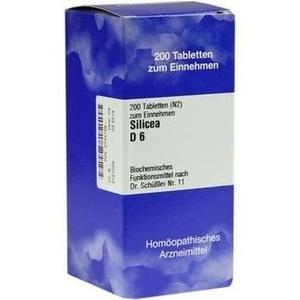 Biochemie 11 Silicea D6 Tabletten