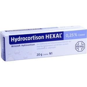 HYDROCORTISON HEXAL 0,25% Creme