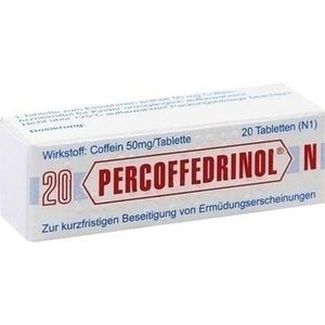 PERCOFFEDRINOL N 50 mg Tabletten
