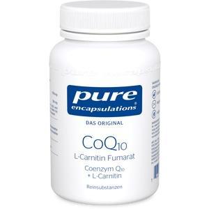 PURE ENCAPSULATIONS CoQ10 L Carnitin Fumar.Kps.