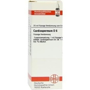 CARDIOSPERMUM D 6 Dilution