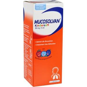 MUCOSOLVAN Kindersaft 30 mg/5 ml 100 ml