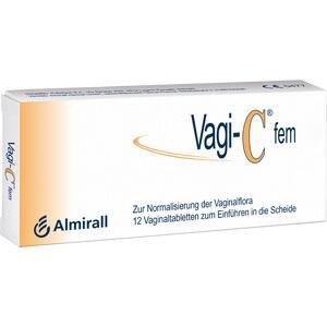 VAGI C Fem Vaginaltabletten