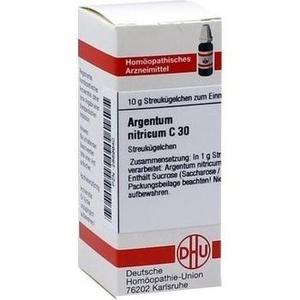 ARGENTUM NITRICUM C 30 Globuli